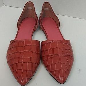 Jenni Kayne Croc Leather D'Orsays 🇮🇹